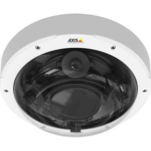 AXIS 0815-001 P3707-PE IP SECURITY CAMERA INDOOR & OUTDOOR DOME WHITE 1920 X 1080PIXELS