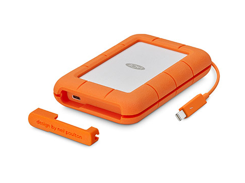 LACIE STFS500400 500GB ORANGE, WHITE EXTERNAL SOLID STATE DRIVE