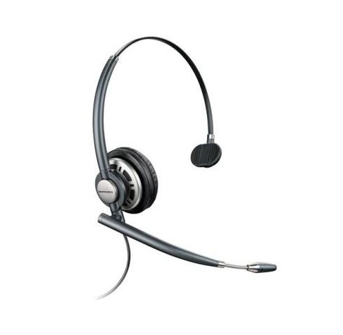 PLANTRONICS 78712-102 HW710 MONAURAL HEAD-BAND BLACK HEADSET