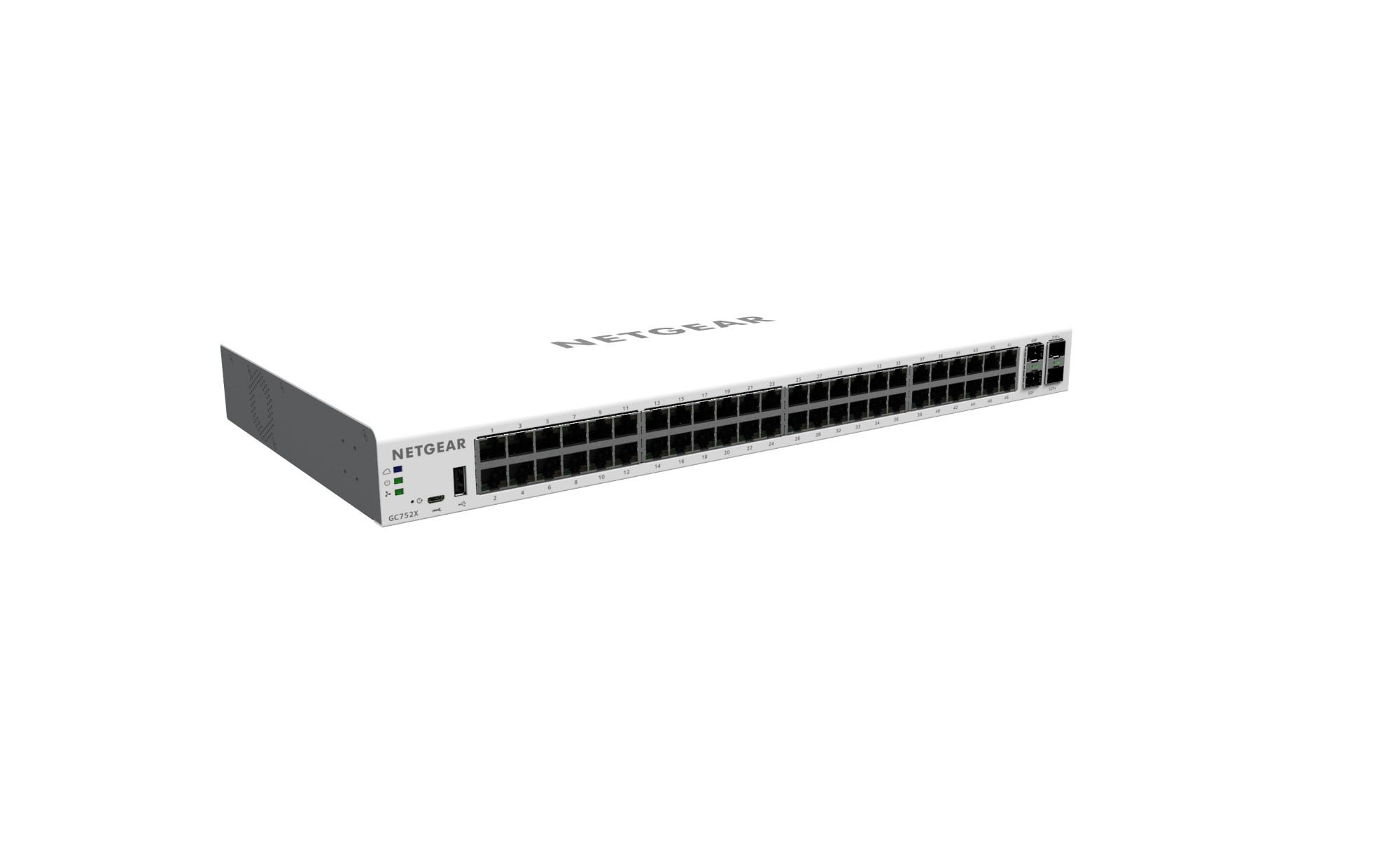 NETGEAR GC752X MANAGED L2/L3/L4 GIGABIT ETHERNET GREY