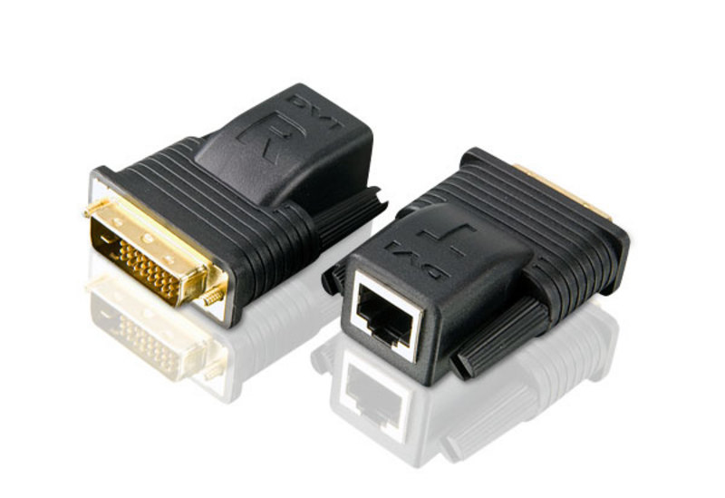 ATEN TECHNOLOGY MINI DVI OVER CAT5E/6 VIDEO EXTENDER (20M)