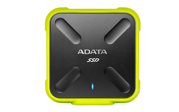 ADATA SD700 256GB BLACK, YELLOW