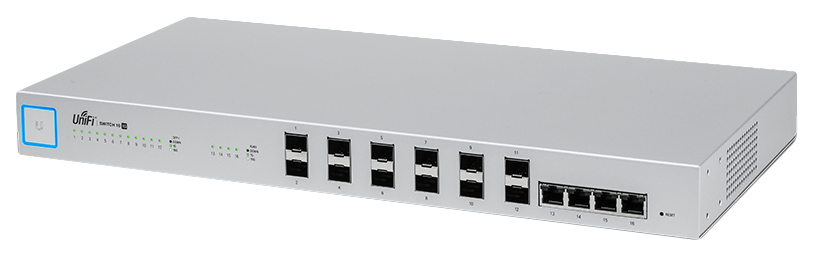 UBIQUITI NETWORKS US-16-XG UNIFI MANAGED NETWORK SWITCH L2 10G ETHERNET (100 - 1000 10000) 1U GREY