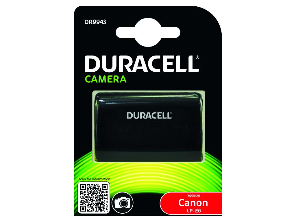 DURACELL CAMERA BATTERY 7.4V 1400MAH 10.4WH LITHIUM-ION (LI-ION) RECHARGEABLE