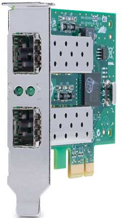 ALLIED TELESIS PCI-EXPRESS DUAL PORT ADAPTER: 2X 1G SFP SLOT