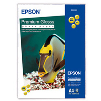 EPSON PREMIUM GLOSSY PHOTO PAPER, DIN A4, 255G/M, 50 SHEETS