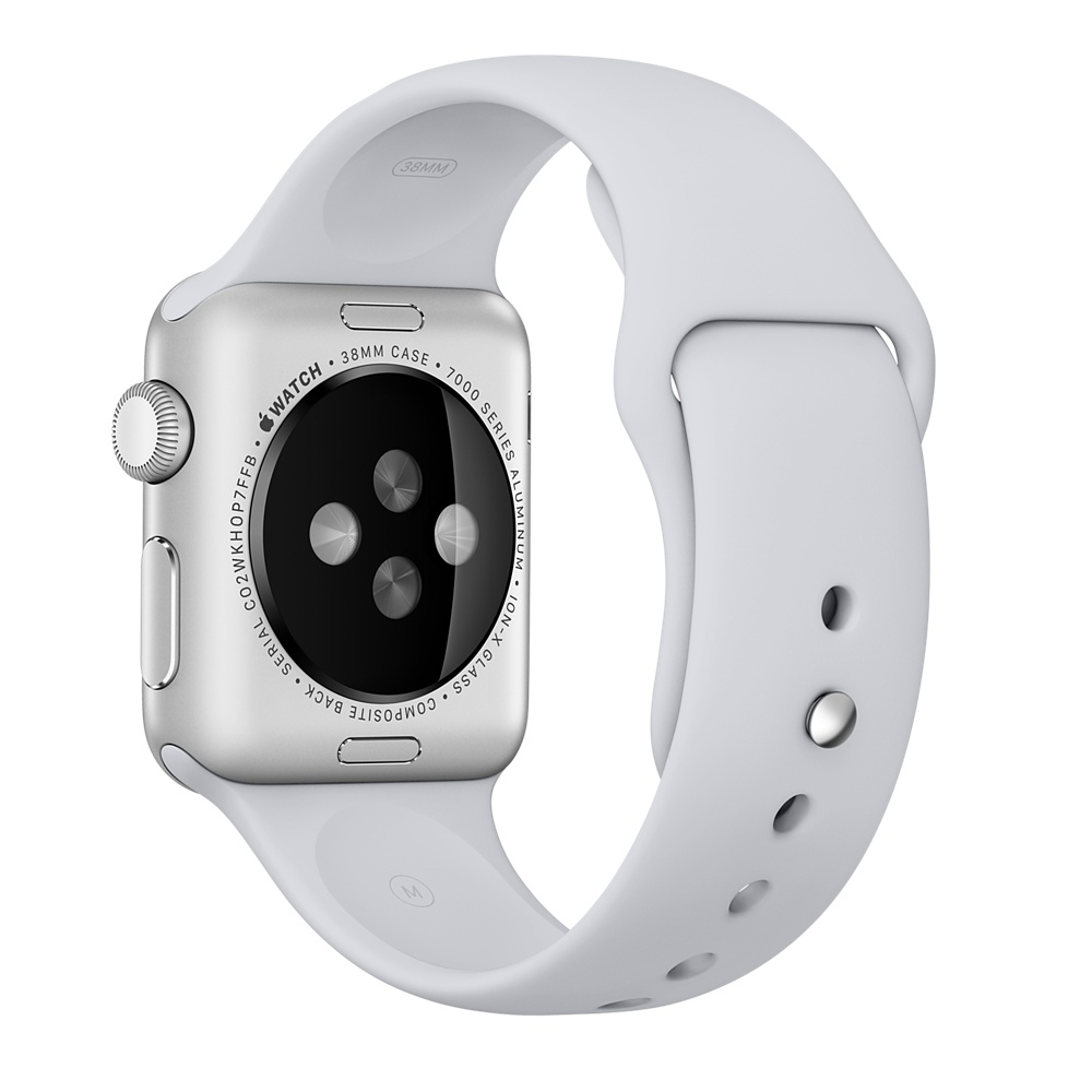 APPLE MLJQ2ZM/A BAND GREY FLUOROELASTOMER