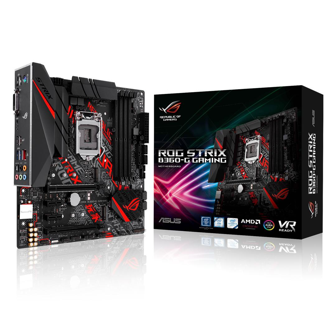 ASUS ROG STRIX B360-G GAMING INTEL B360 LGA 1151 (SOCKET H4)