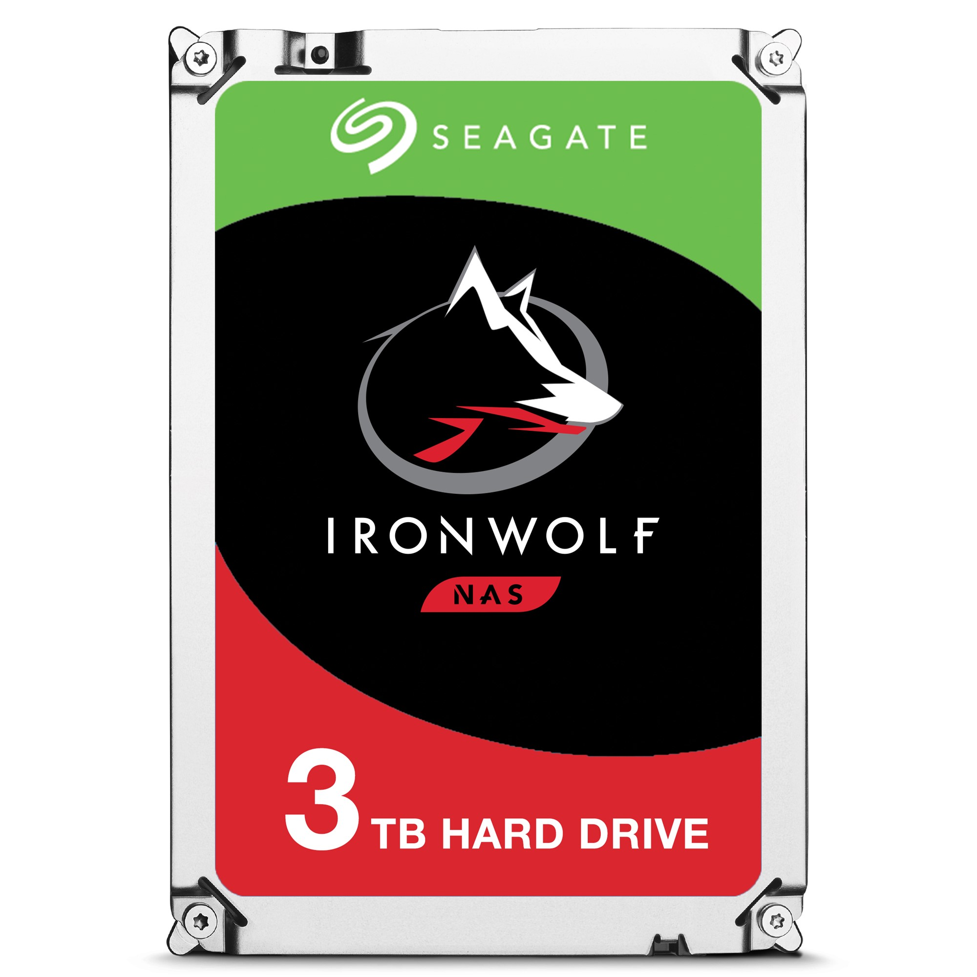 SEAGATE IRONWOLF ST3000VN007 HDD 3000GB SERIAL ATA III INTERNAL HARD DRIVE
