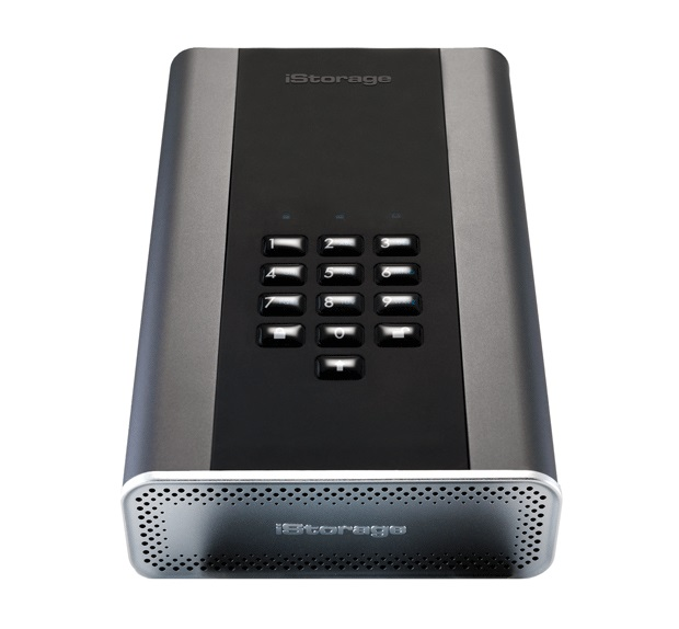 ISTORAGE IS-DT2-256-12000-C-G DISKASHUR DT2 12TB GRAPHITE