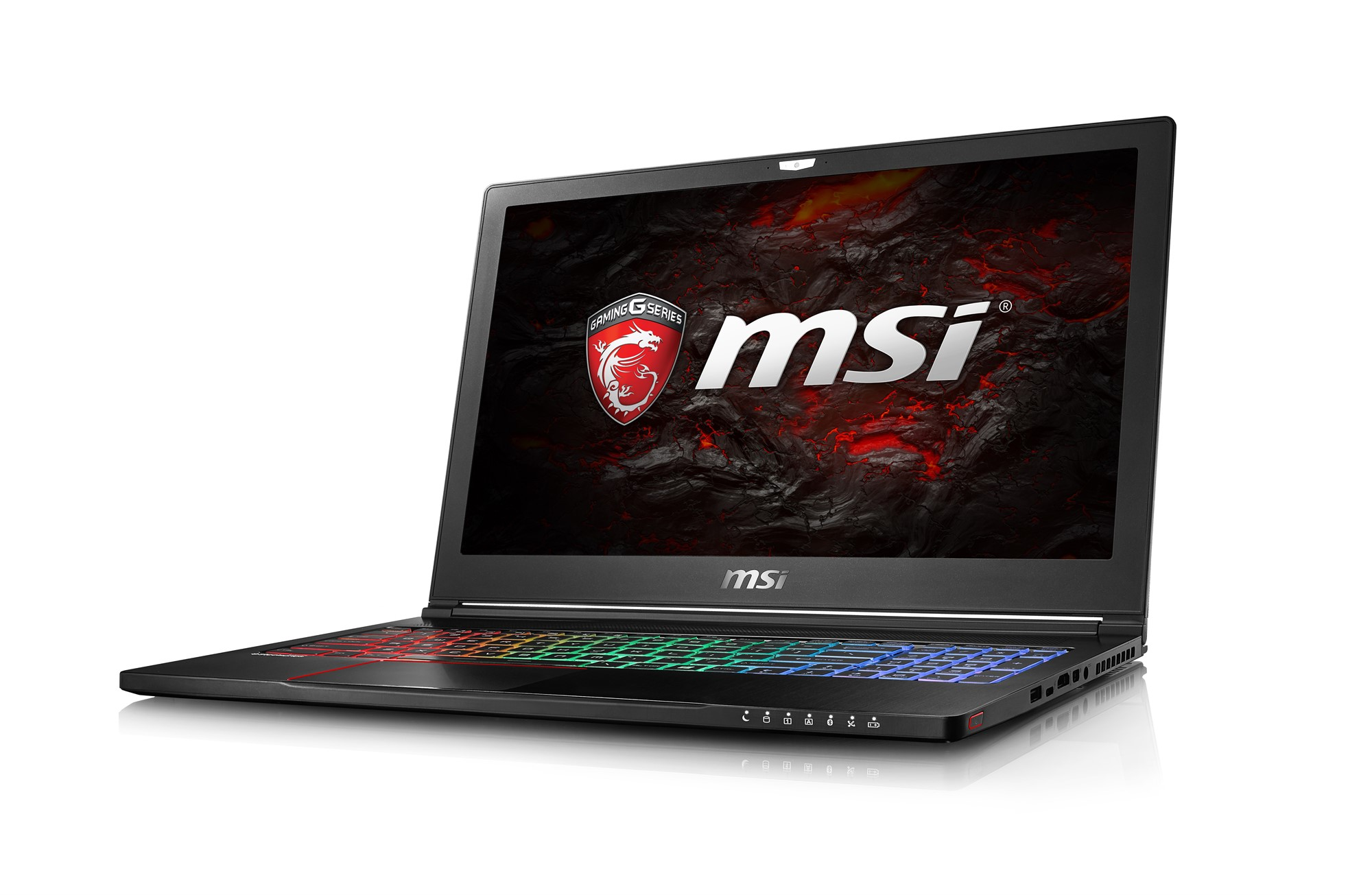 MSI GAMING GS63 7RD-091UK STEALTH 2.8GHZ I7-7700HQ 15.6