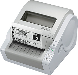 BROTHER TD-4000 DIRECT THERMAL 300 X 300DPI LABEL PRINTER