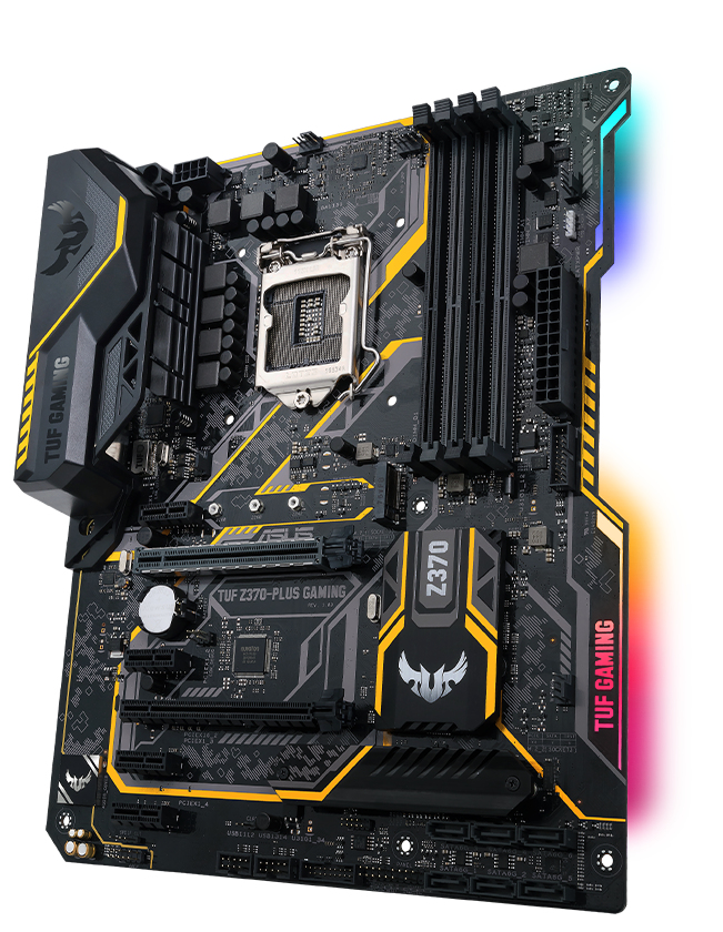 ASUS TUF Z370-PLUS GAMING LGA 1151 (SOCKET H4) ATX