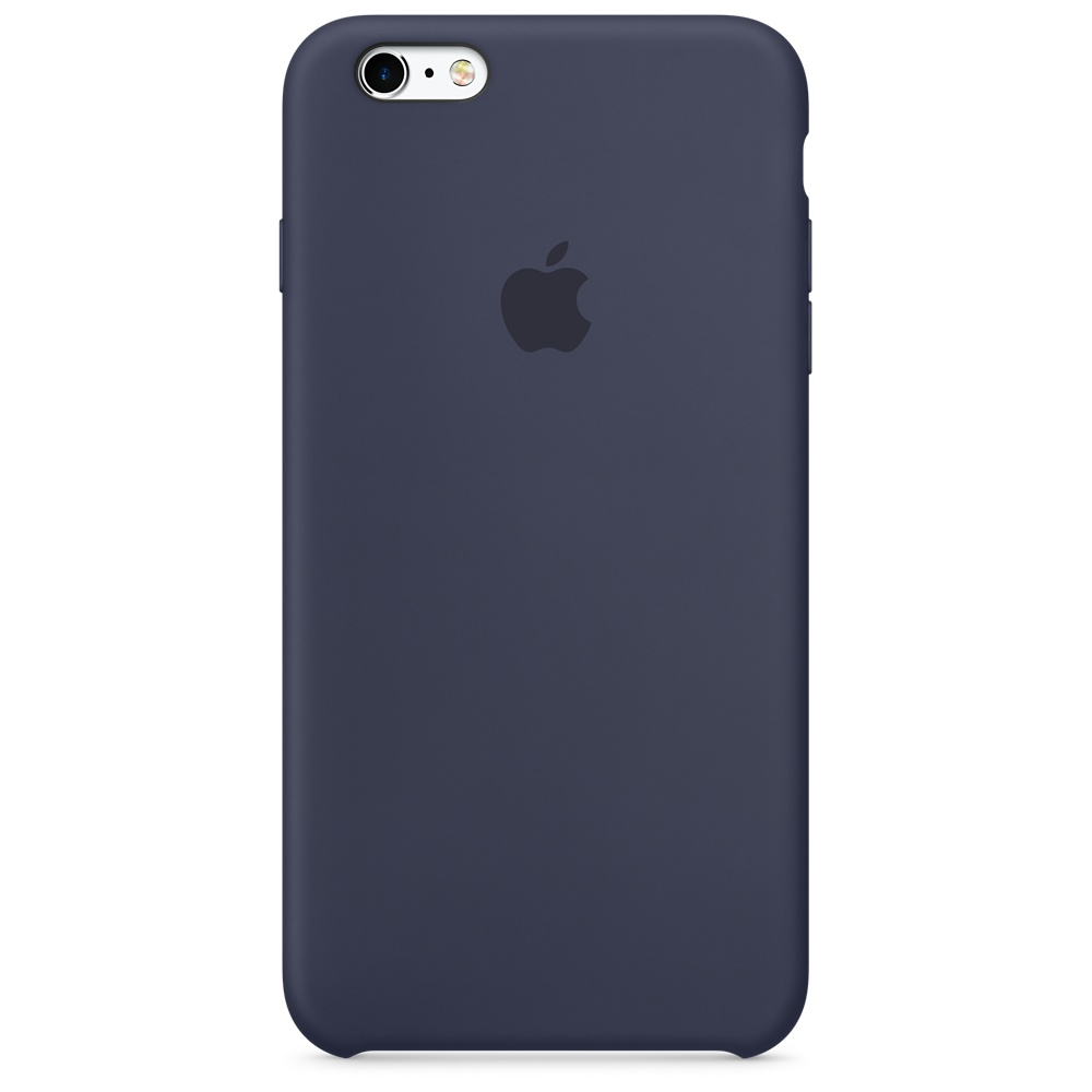 APPLE IPHONE 6S SILICONE CASE - MIDNIGHT BLUE