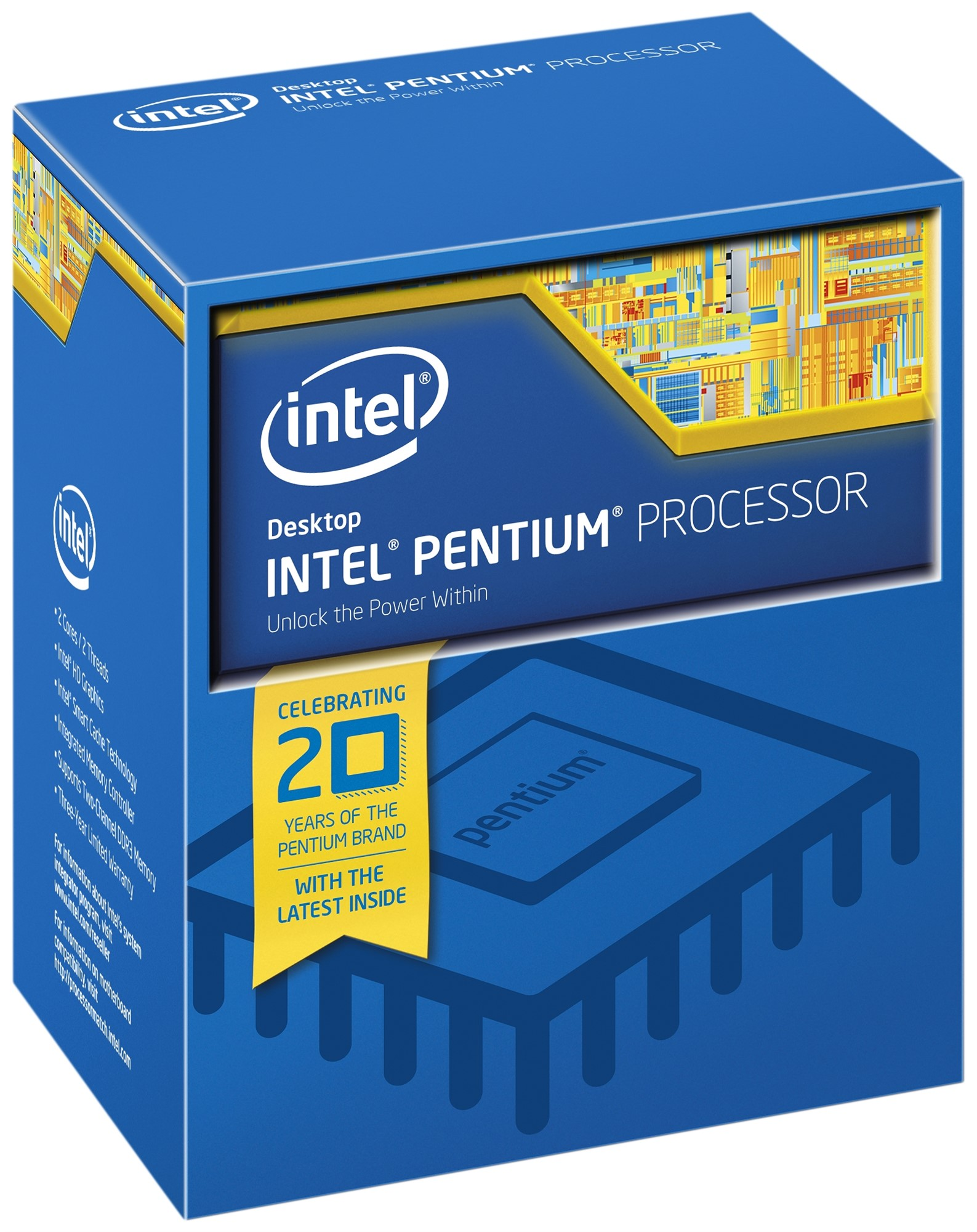 INTEL PENTIUM PROCESSOR G4400 (3M CACHE, 3.30 GHZ) 3.3GHZ 3MB SMART CACHE BOX