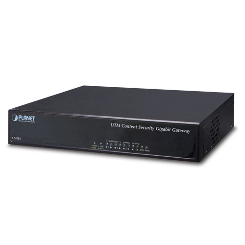 Planet CS-950 wired router Black