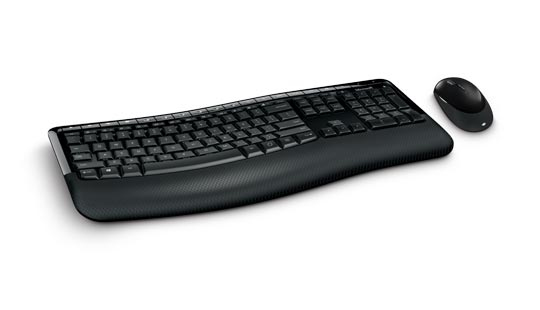MICROSOFT PP4-00006 5050 RF WIRELESS + USB QWERTY UK ENGLISH BLACK