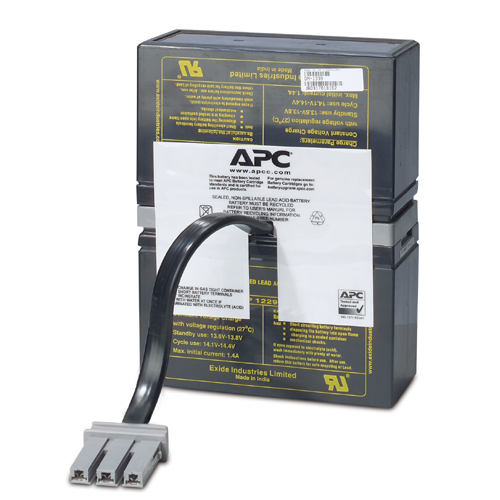 APC REPLACEMENT BATTERY CARTRIDGE #32 SEALED LEAD ACID (VRLA) RECHARGEABLE