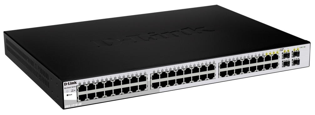 D-LINK DGS-1210-48 MANAGED NETWORK SWITCH L2 BLACK