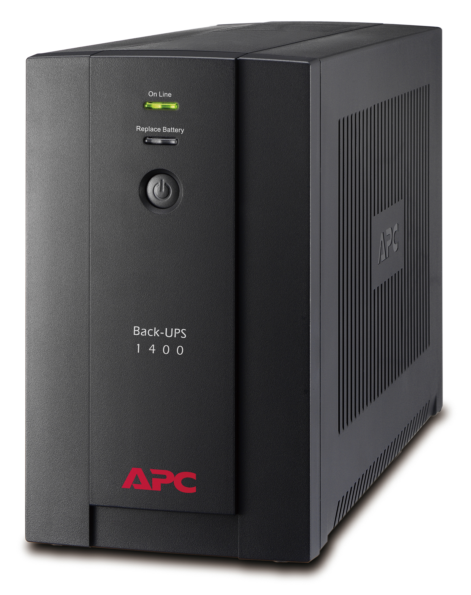APC BACK-UPS LINE-INTERACTIVE 1400VA 6AC OUTLET(S) TOWER BLACK UPS