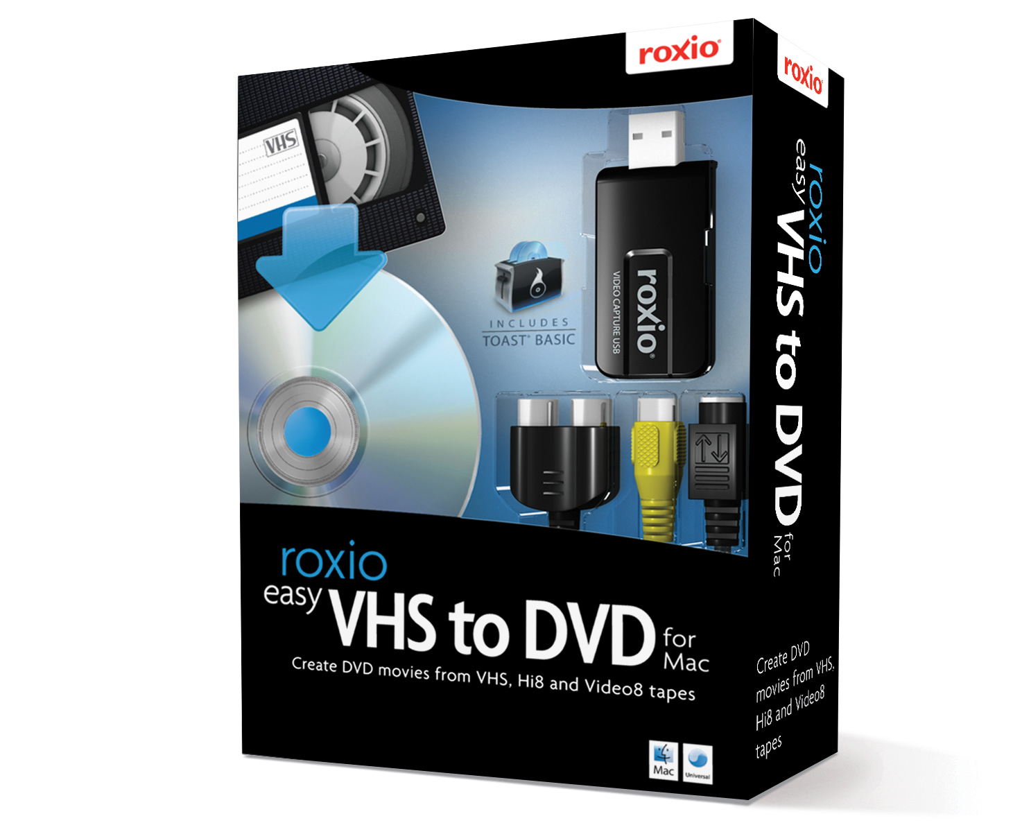 COREL EASY VHS TO DVD FOR MAC, MINI BOX, EN