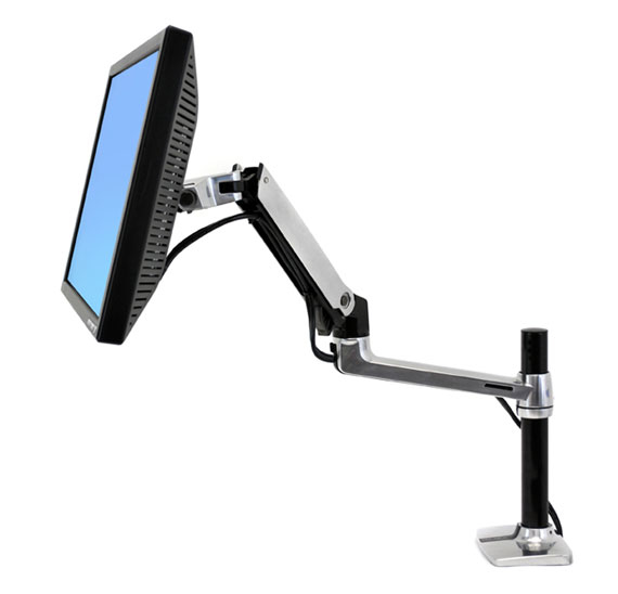 ERGOTRON 45-295-026 LX DESK MOUNT LCD ARM, TALL POLE