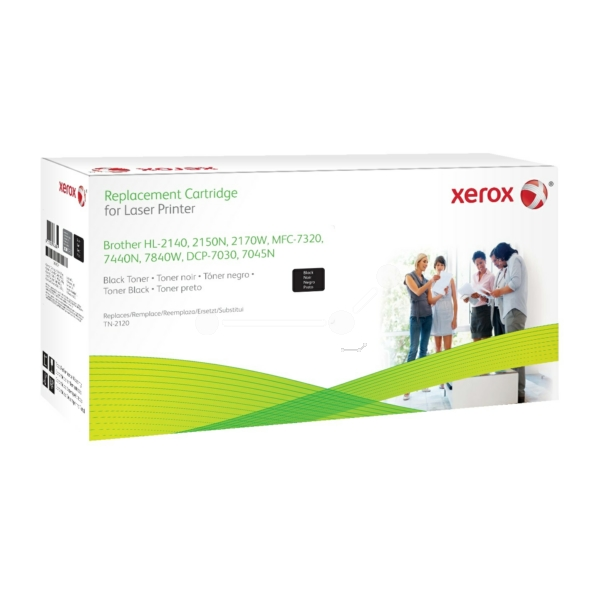 XEROX 003R99781 COMPATIBLE TONER BLACK, 2.6K PAGES @ 5% COVERAGE (REPLACES BROTHER TN2120)