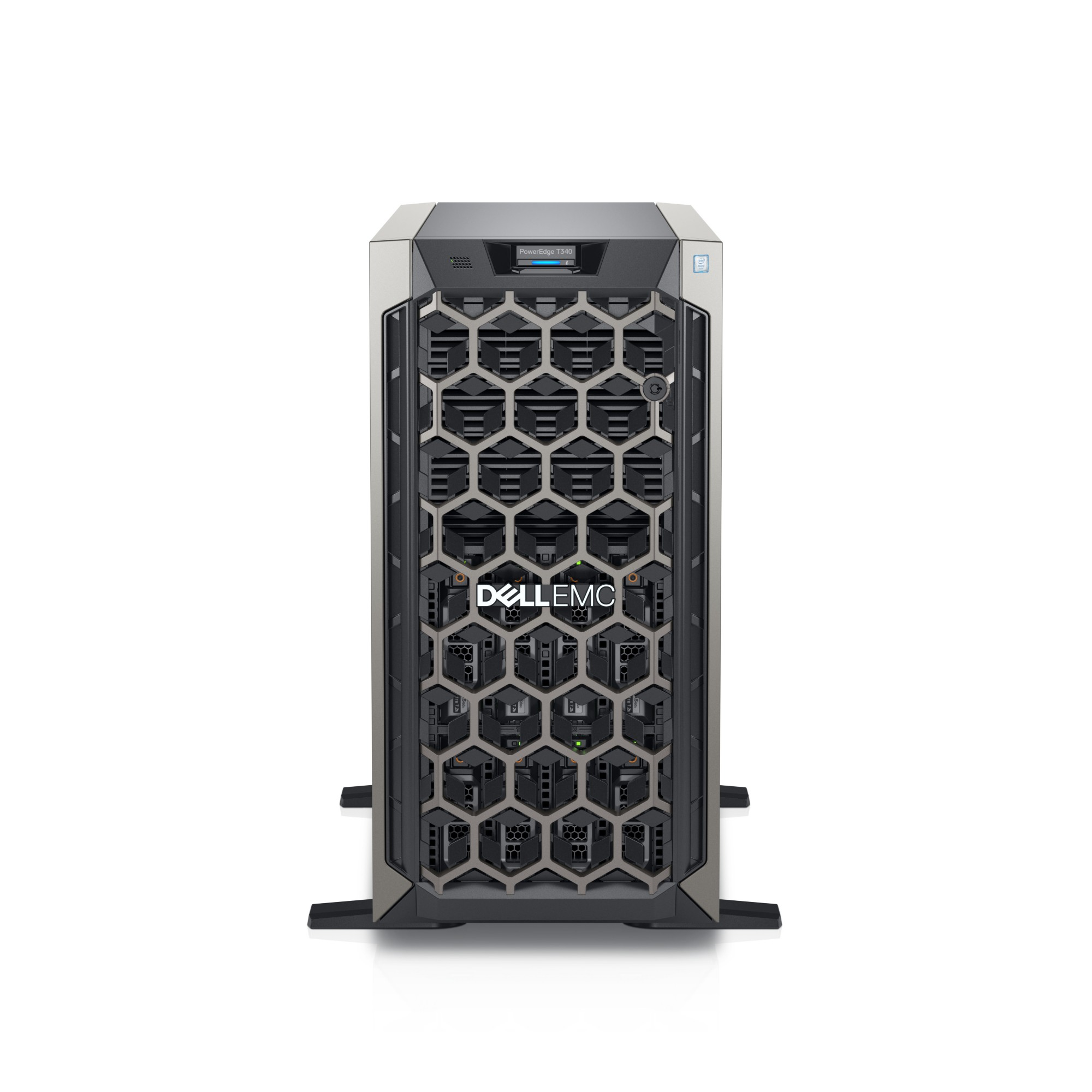DELL PowerEdge T340 server 3.3 GHz Intel Xeon E-2124 Tower 495 W