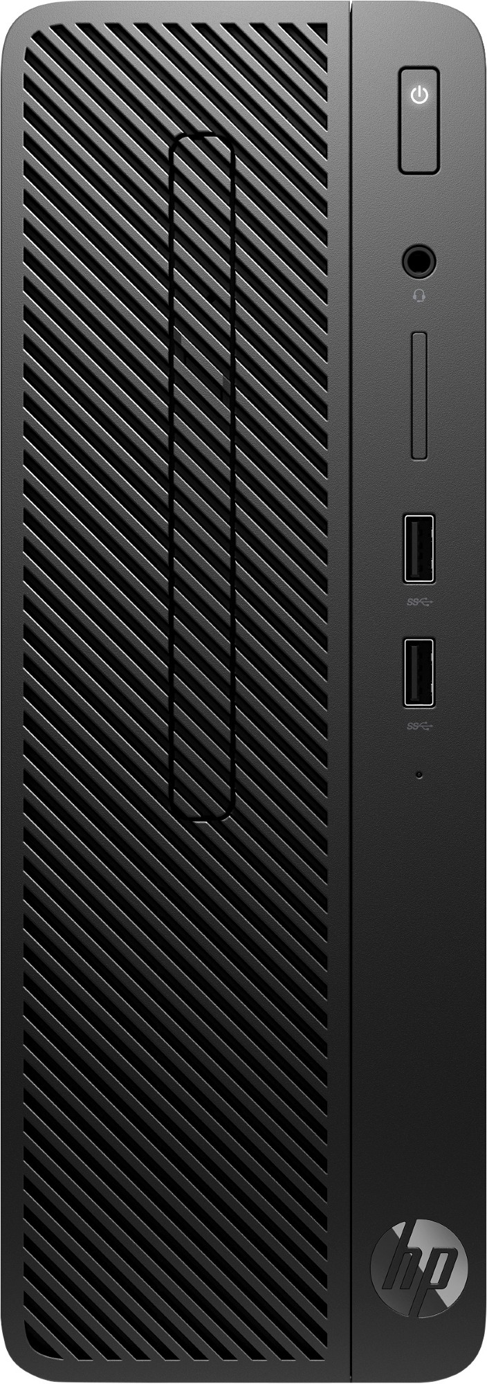 HP 3ZE00EA#ABU 290 MICROTOWER PC G1 3.6GHZ I3-8100 SFF BLACK