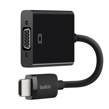 BELKIN HDMI TO VGA ADAPTER WITH MICRO-USB POWER