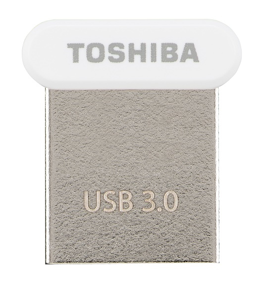 TOSHIBA TRANSMEMORY U364 64GB WHITE USB 3.0 TYPE-A CONNECTOR FLASH DRIVE