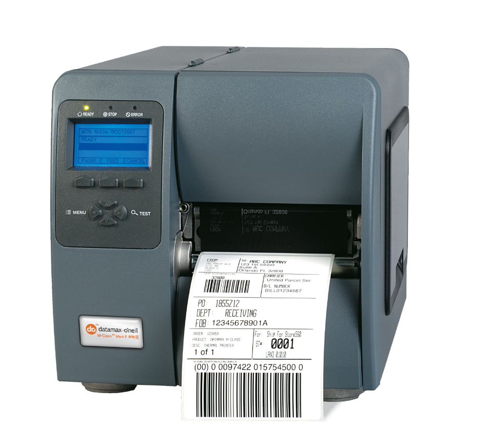 DATAMAX O'NEIL (BY HONEYWELL) M-CLASS MARK II M-4206 DIRECT THERMAL / TRANSFER 203 X 203DPI LABEL PRINTER