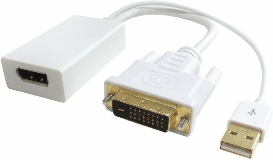 MICROCONNECT DVIDDPF ADAPTER DVI-D TO DP FEMALE