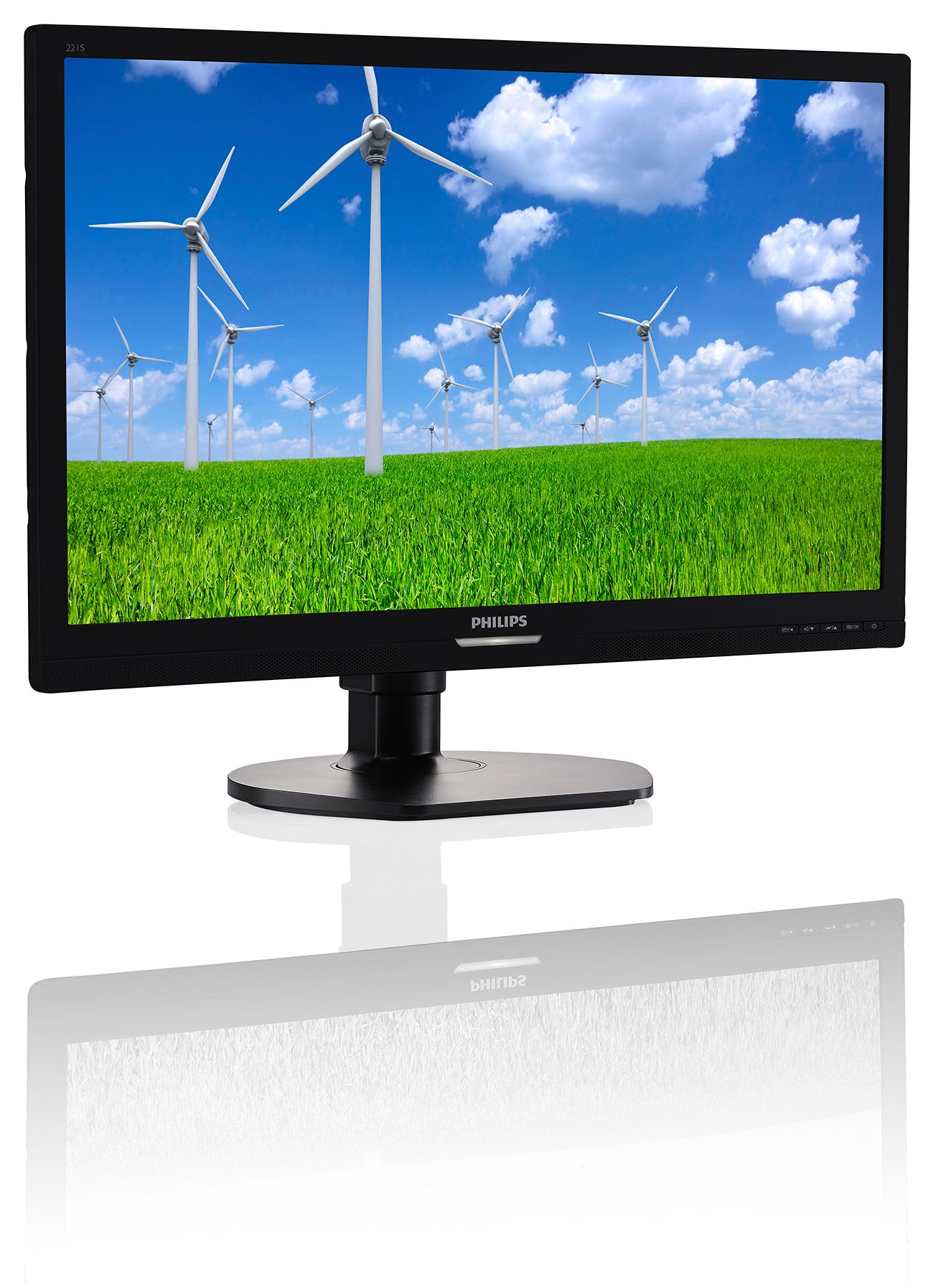 PHILIPS BRILLIANCE LED-BACKLIT LCD MONITOR 221S6QYMB/00