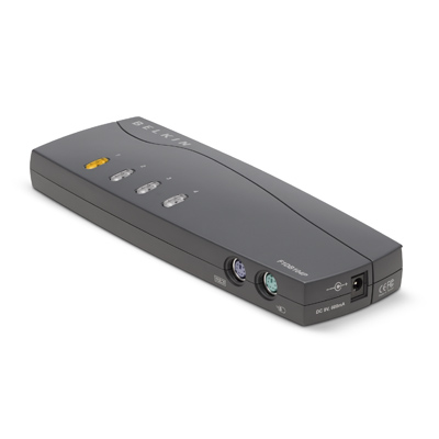 LINKSYS F1DB104P2EAB BLACK KVM SWITCH