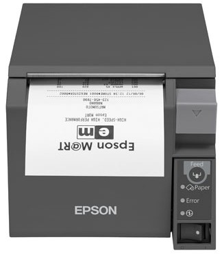EPSON TM-T70II (024C1) THERMAL POS PRINTER 180 X 180DPI