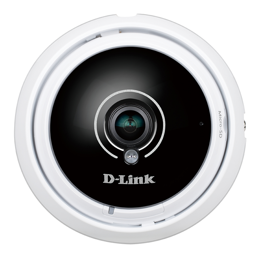 D-LINK DCS-4622 IP SECURITY CAMERA INDOOR DOME BLACK, WHITE 1920 X 1536PIXELS