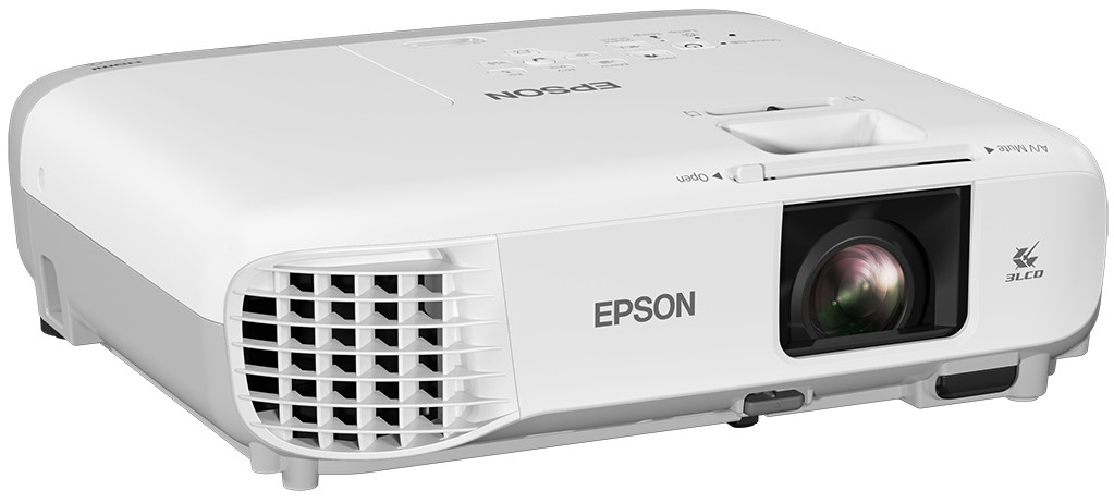 EPSON EB-108 CEILING-MOUNTED PROJECTOR 3700ANSI LUMENS 3LCD XGA (1024X768) GREY, WHITE DATA