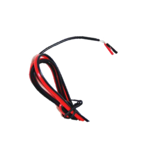 ZEBRA CHG-AUTO-HWIRE1-01 BLACK/RED POWER CABLE