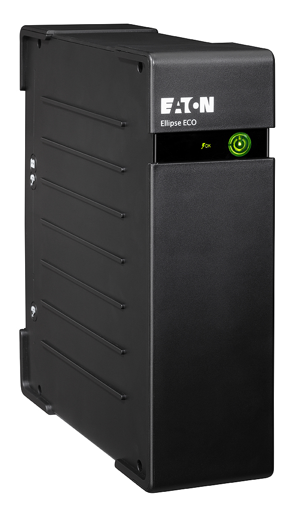 EATON POWERWARE EL500DIN ELLIPSE ECO 500 DIN 500VA 4AC OUTLET(S) RACKMOUNT BLACK UNINTERRUPTIBLE POWER SUPPLY (UPS)