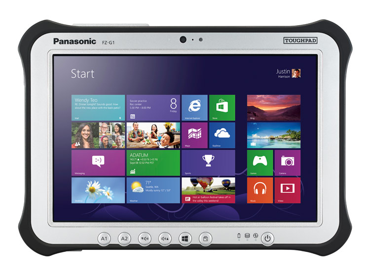 PANASONIC TOUGHPAD FZ-G1 128GB BLACK,SILVER TABLET