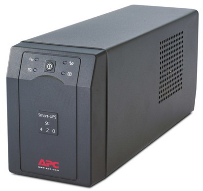 APC SMART-UPS LINE-INTERACTIVE 420VA 4AC OUTLET(S) TOWER GREY UPS
