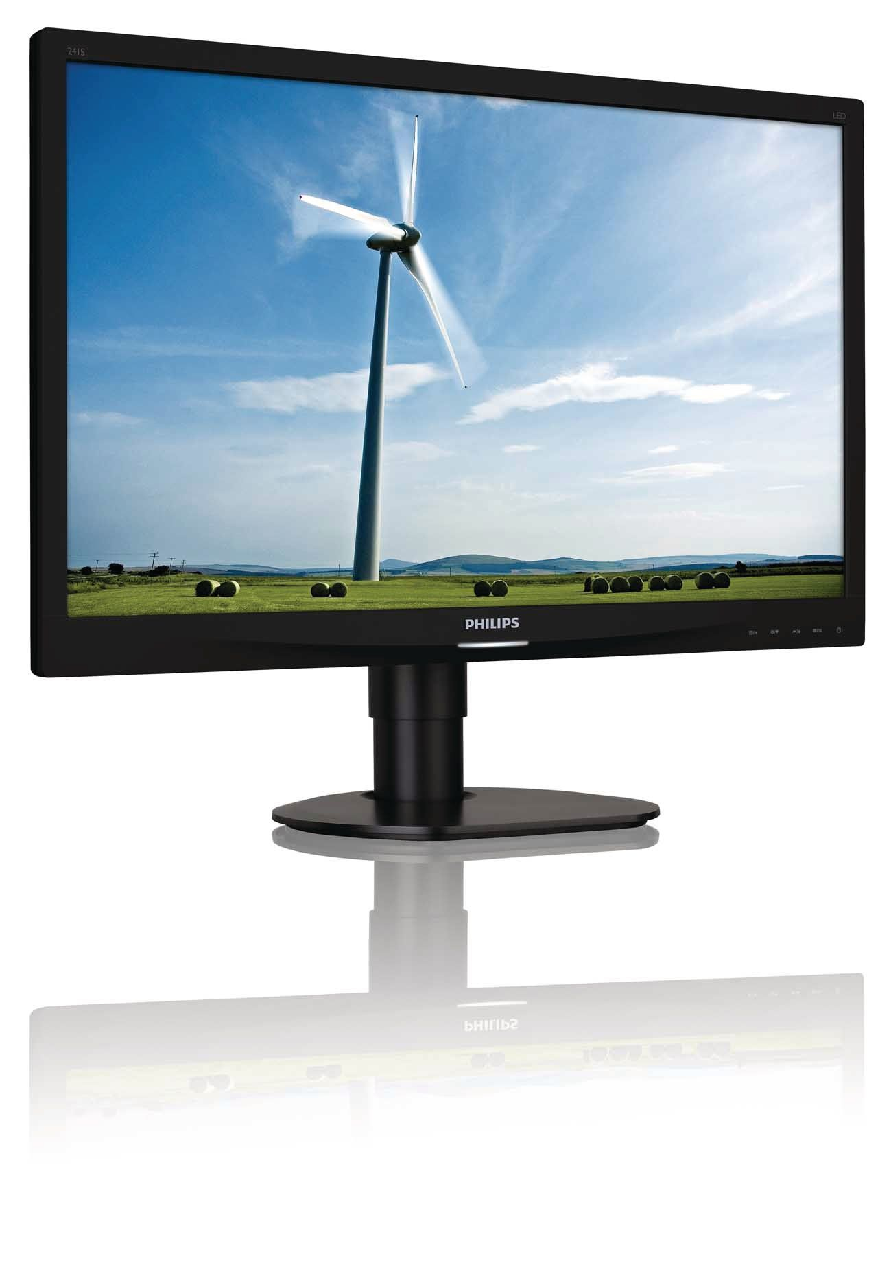 PHILIPS BRILLIANCE LCD MONITOR, LED BACKLIGHT 241S4LCB/00
