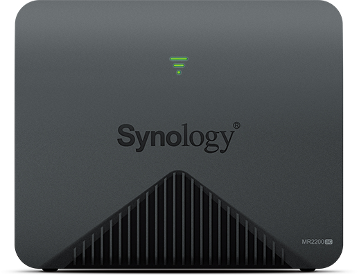 Synology MR2200AC wireless router Dual-band (2.4 GHz / 5 GHz) Gigabit Ethernet 3G 4G Black