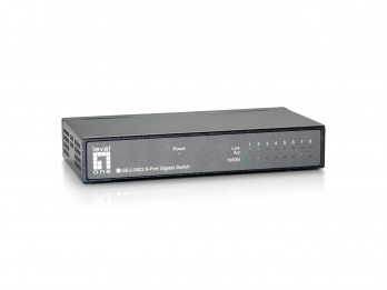 LEVELONE GEU-0822 8-PORT GIGABIT ETHERNET SWITCH