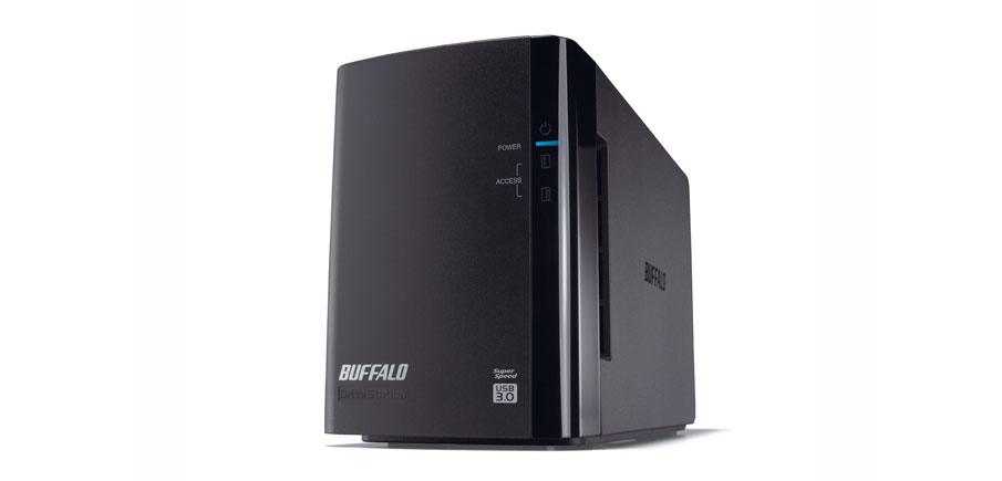 BUFFALO HD-WL8TU3R1-EB DRIVESTATION DUO USB 3.0 STORAGE SERVER BLACK