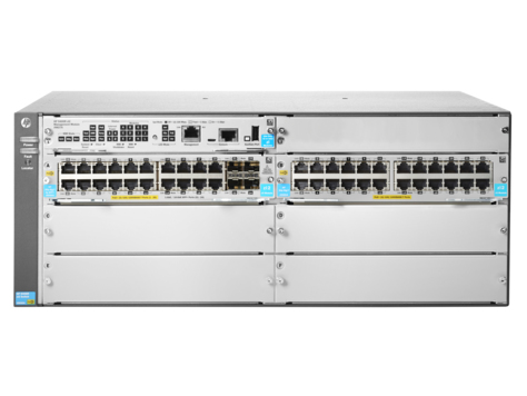 HPE JL003A 5406R 44GT POE+ & 4-PORT SFP+ V3 ZL2 MANAGED NETWORK SWITCH L3 GIGABIT ETHERNET (POE) 4U GREY