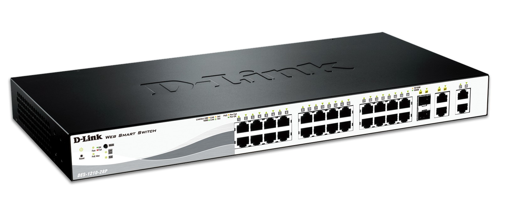 D-LINK DES-1210-28P NETWORK SWITCH