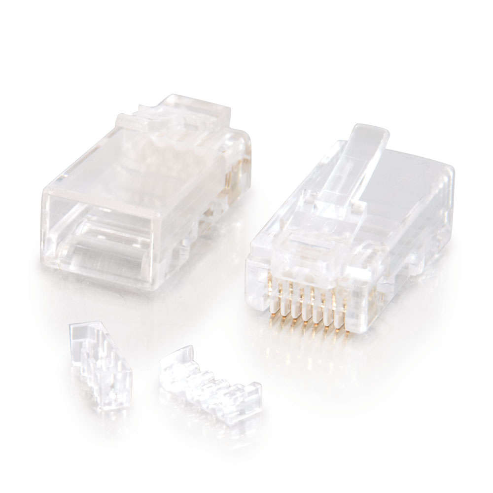 C2G 88125 RJ-45 WHITE WIRE CONNECTOR
