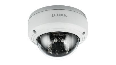 D-LINK DCS-4603 IP SECURITY CAMERA INDOOR DOME WHITE 2048 X 1536PIXELS